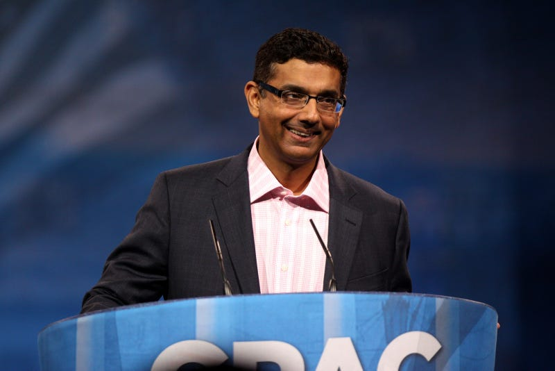 Conservative Icon Dinesh D'Souza Indicted For Campaign Fraud