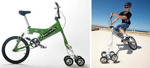 5-Wheeled Bike Let You Do Stunts, Look Like a Tool