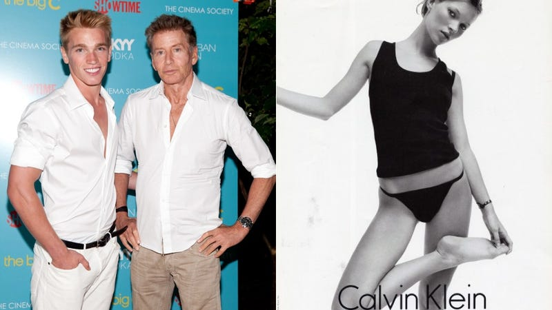 Calvin Klein Cast Kate Moss Because She Was 'Always Thin'