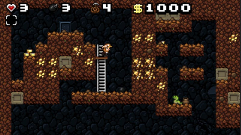 Need to play Spelunky Right This Second? In Your Browser? Now You Can.