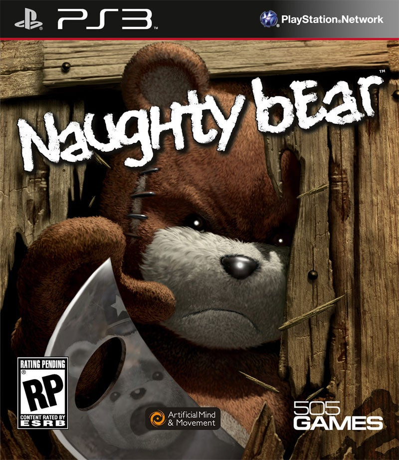 Naughty Bear's Naughty Box