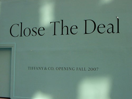 "Tiffany Sales Could Save The Economy, But It's Probably Too Late For ""Gross National Happiness"""