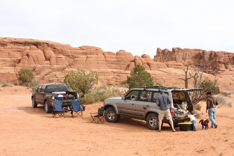 Fauxverlanding in Moab