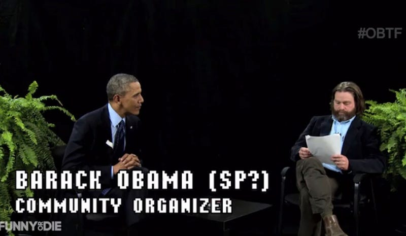 Zach Galifianakis Interviewed President Obama on Between Two Ferns