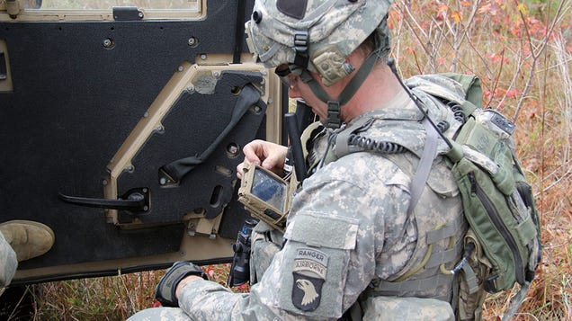 Soldiers Describe How DARPA Smartphones Save Lives in Battle