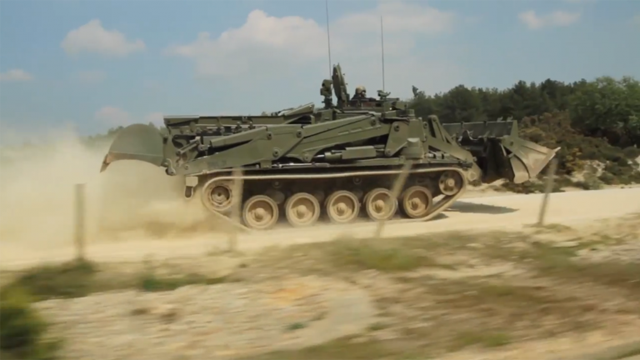 The British Army's New Tank-Bulldozer Hybrid Is Freakin' Amazing