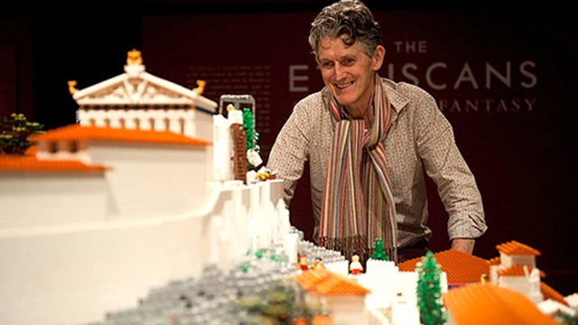Magnificent Lego Acropolis Is Made of 120,000 Bricks