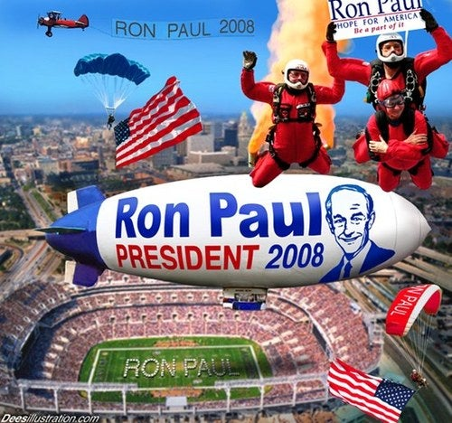 'Bruno' Exposes Himself to Ron Paul