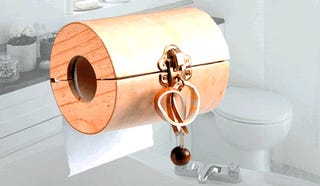 Toilet Paper Puzzle Makes Pooping Even More Frustrating