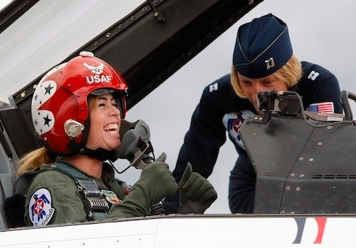 Behind Every F-16, There's A Strong Woman (Or There Should Be)