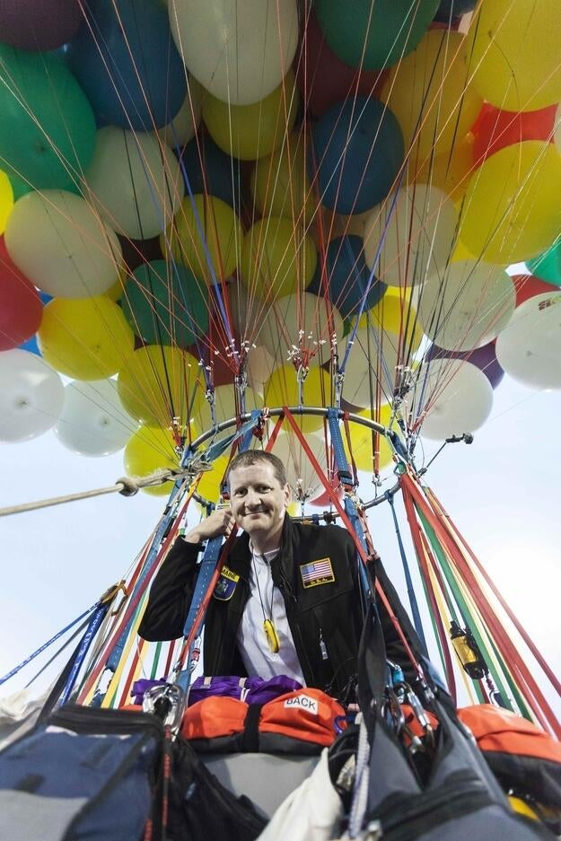 Meet the Man Attempting to Cross the Atlantic Using Only Balloons