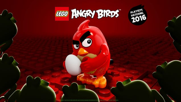 So That's What A LEGO Angry Bird Looks Like