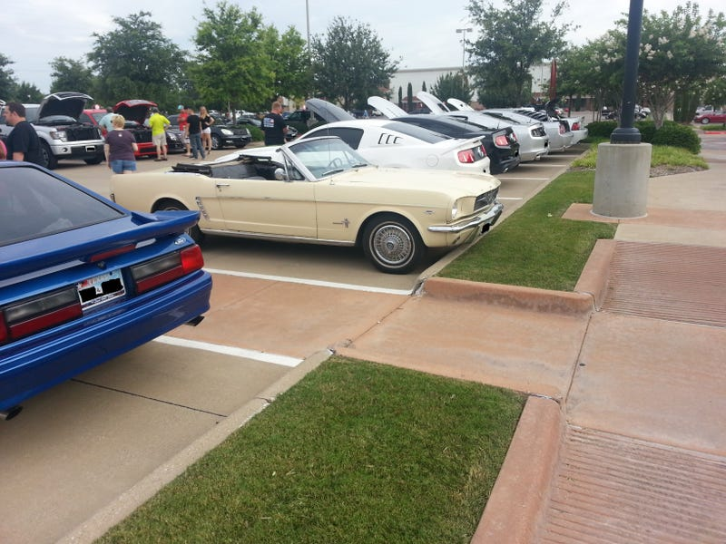 Cars & Coffee, Cowtown Edition, 06/14/2014