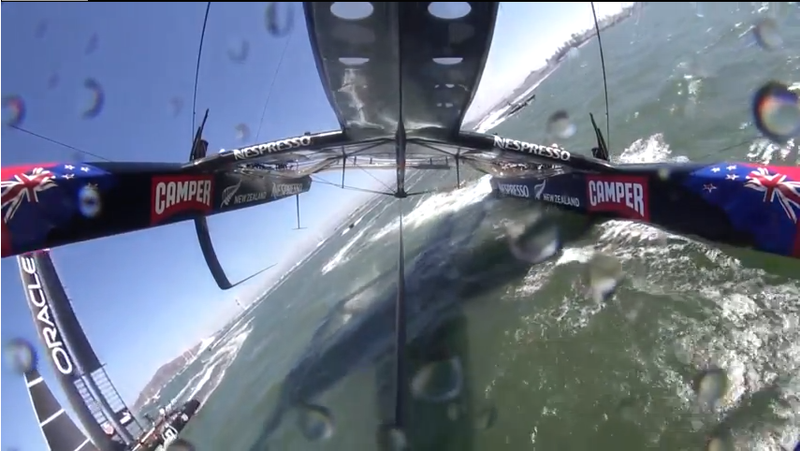 Emirates Team New Zealand Nearly Capsized