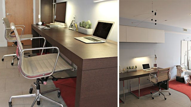 A Minimalist Workspace for Two
