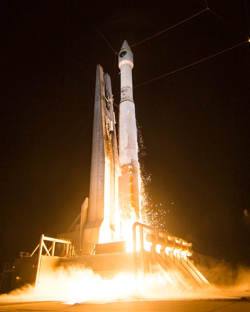 A New, Improved, Jamming-Resistant GPS Satellite Launched Last Night