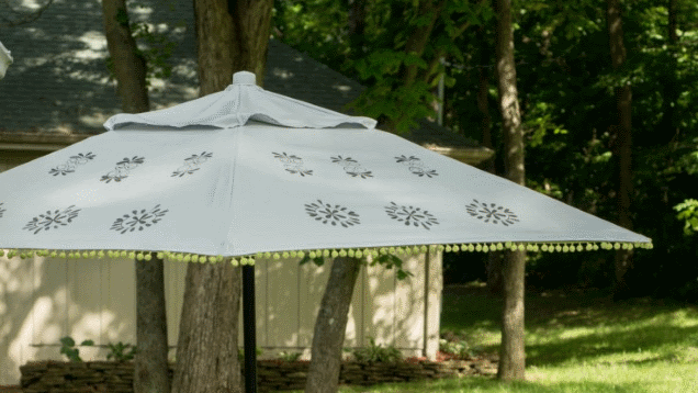 Refresh Your Tired, Worn-Out Patio Umbrella On the Cheap