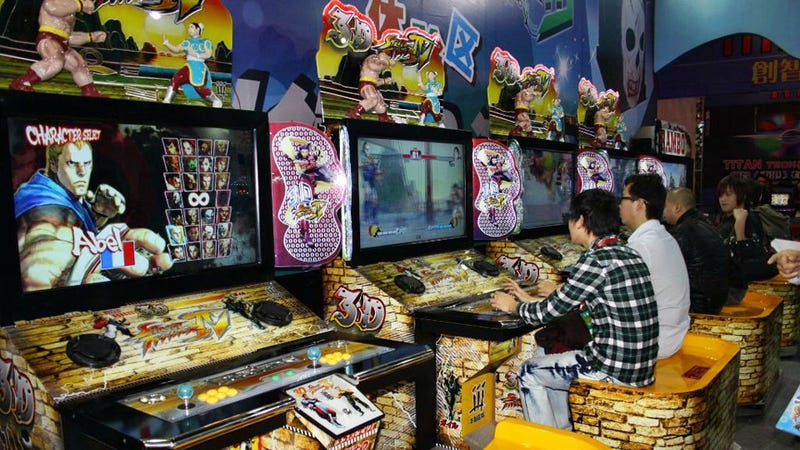 China Gets 3D Street Fighter For Arcades