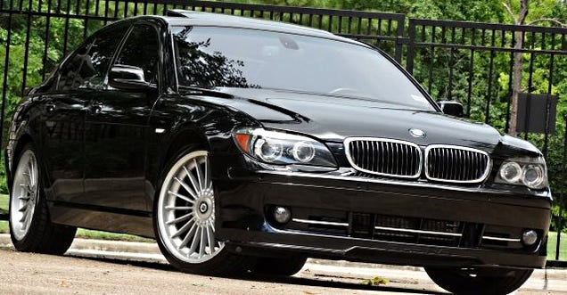 You Can Get A Supercharged BMW 7Series For the Price Of A Ford Focus