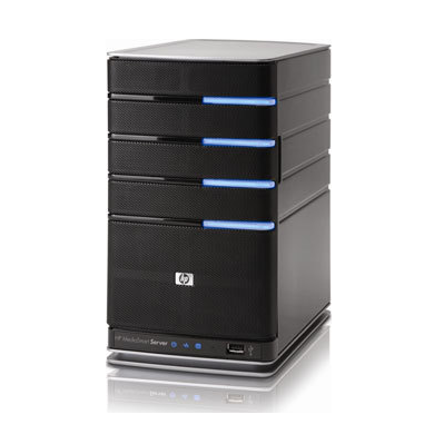 HP MediaSmart Server Now Available; Iomega and Others Unveil Windows Home Servers
