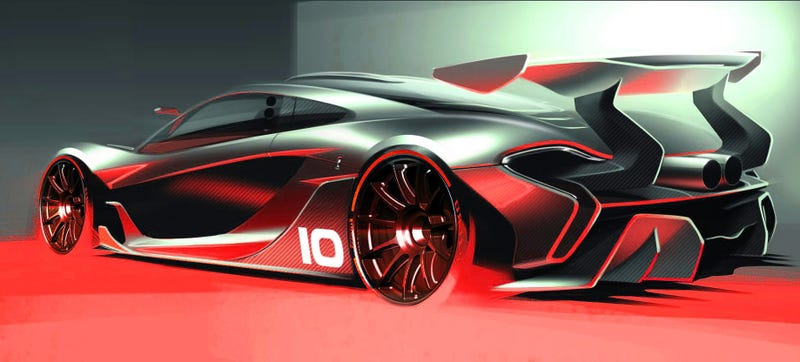McLaren P1 GTR Is ​Reportedly $3.35 Million, 2,800 LBS, And Has 986 HP