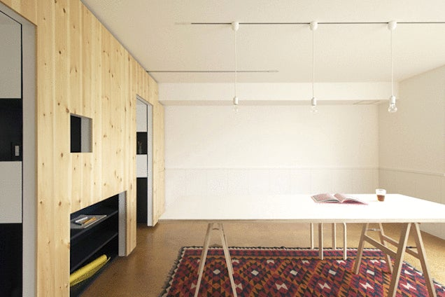 Incredible Transforming Apartments Turn Tiny Rooms Into