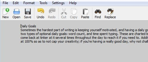 FocusWriter Is a Feature Rich but Distraction Free Word Processor