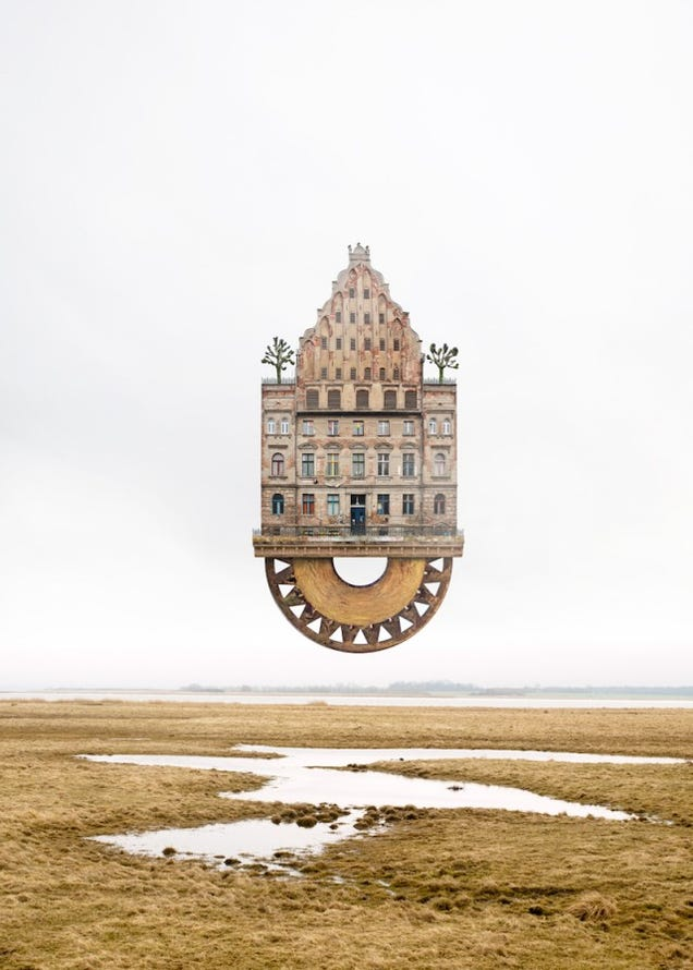 These Structurally Absurd Homes Look Straight Out of Harry Potter