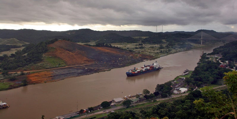 Blowing Up the Panama Canal