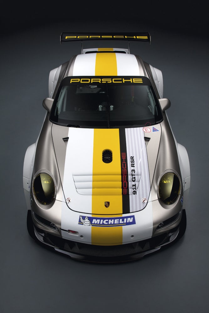 Porsche Gives 911 GT3 RSR A Nip And Tuck