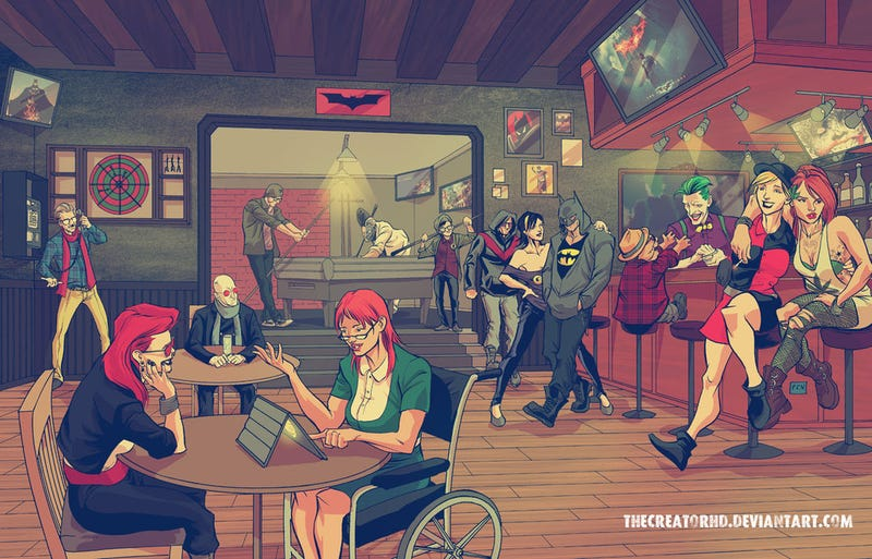 Comics Gone Hipster