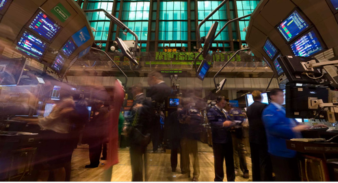 360-Degree New York Stock Exchange Panorama Shows Where The Action, Sadness Happens