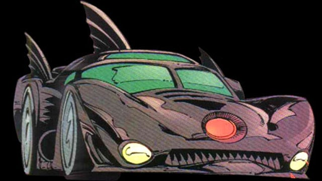 The Ten Fastest Comic Book Cars