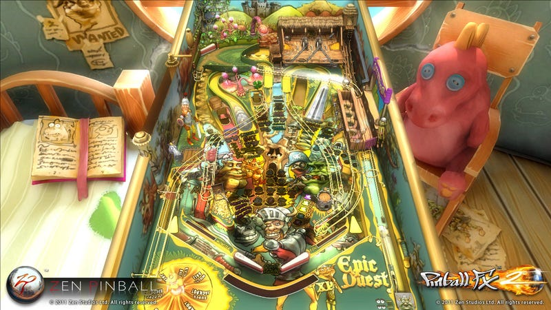 A Pinball Role-Playing Game? Be Still My Shiny Spherical Heart