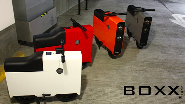 Boxx Electric Bike Takes Its Design Stylings From IKEA's Packaging