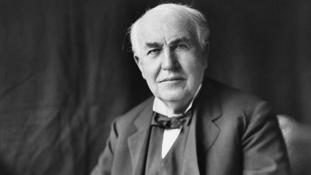 Thomas Edison's lengthy to-do list called for phonographic clocks and ink for the blind