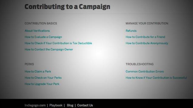 Should I Contribute to Crowdfunding Campaigns (Like Kickstarter?)