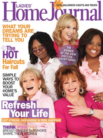 The View Ladies Talk Friendships & Feuding In Ladies' Home Journal