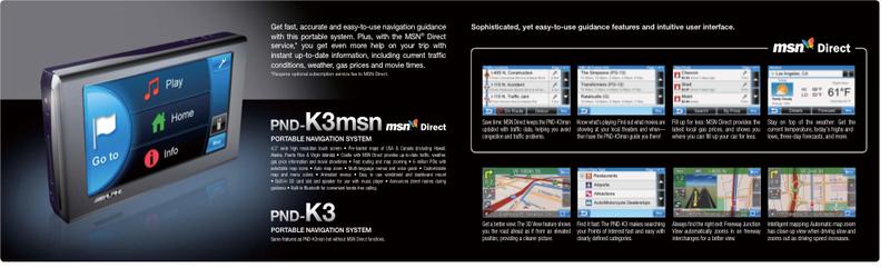 Alpine PND-K3MSN GPS: Same Old MSN Data, Some New Tricks