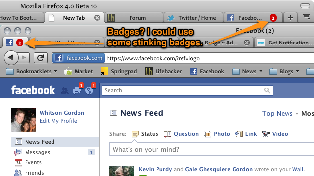 Tab Badge Draws Your Attention to the Tabs that Need It