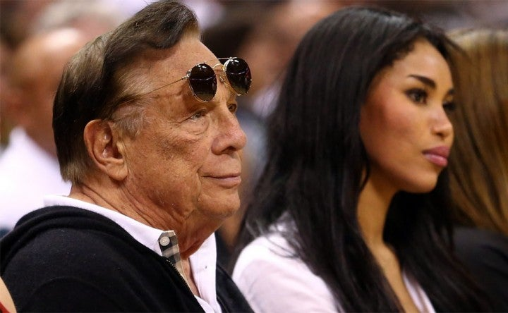 Donald Sterling Mourning His Cat's Death