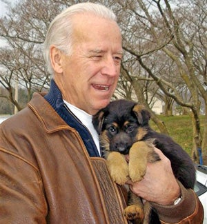 Joe Biden Names The Puppy, And Rahm Emanuel Cleans Up His Language