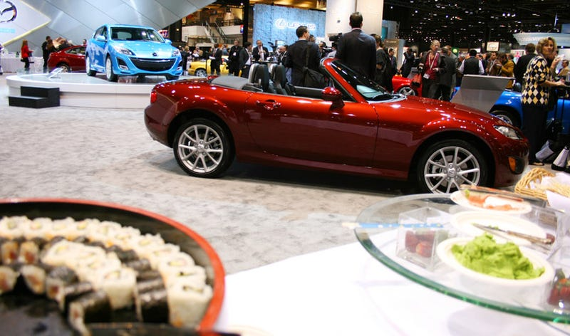 2009 Mazda Miata MX-5: 20 Years Of Beer And Sushi