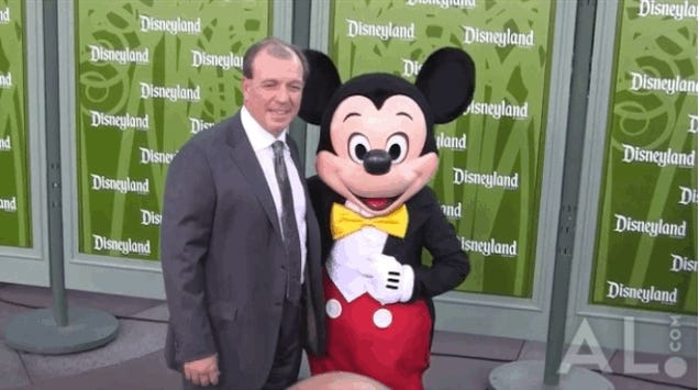 Jimbo Fisher Leaves Mickey Mouse Hanging