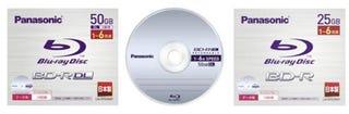 Panasonic's New Blu-ray Discs are World's First 6x Speed Burnable