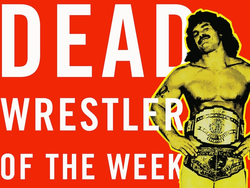 "Dead Wrestler Of The Week: ""Ravishing"" Rick Rude"