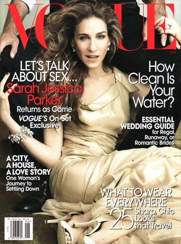The June Vogue Is So Very Confusing (Kind Of Like SJP's Awful Expression)