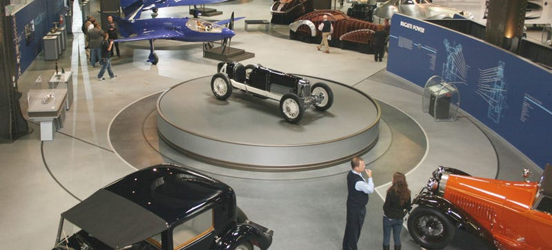 This Is The Most Amazing Exhibition Of Bugatti Cars And Artwork Ever