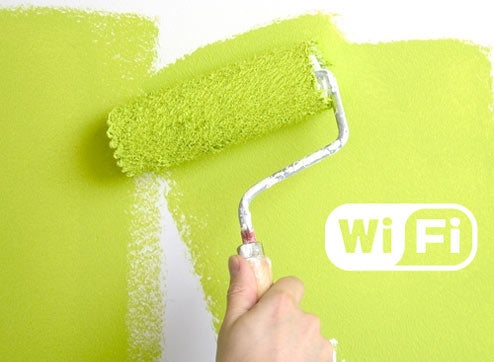 New Paint Could Block Wi-Fi From Nosey Neighbors