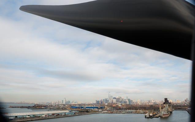 My Climb to the Top of New York City's Tallest Wind Turbine